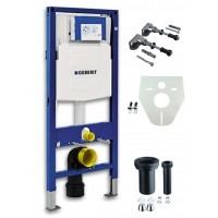 Geberit Duofix toilet element met UP320 inbouwreservoir. 1