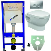 Geberit UP100 hangtoilet pack 3. 1