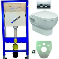 Geberit UP100 hangtoilet pack 4. 1