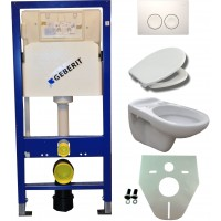Geberit UP100 hangtoilet pack 6. 1