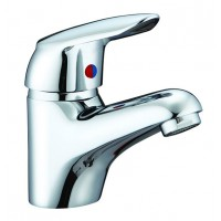 Sanifun Schütte WELL/DVGW basin mixer, chrome