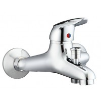 Sanifun Schütte WELL/DVGW bath mixer, chrome