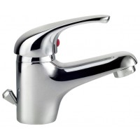 Sanifun Schütte ATHOS basin mixer, chrome