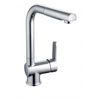 Sanifun Schütte LONDON sink mixer with pull-out aerator, chrome