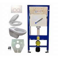 Geberit UP100 hangtoilet promotie pack. 1