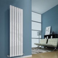 Sanifun design radiator Boston 120 x 41 Wit. 1