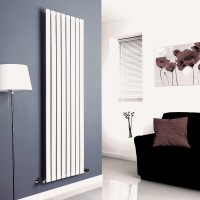 Sanifun design radiator Boston 180 x 55 Wit. 1
