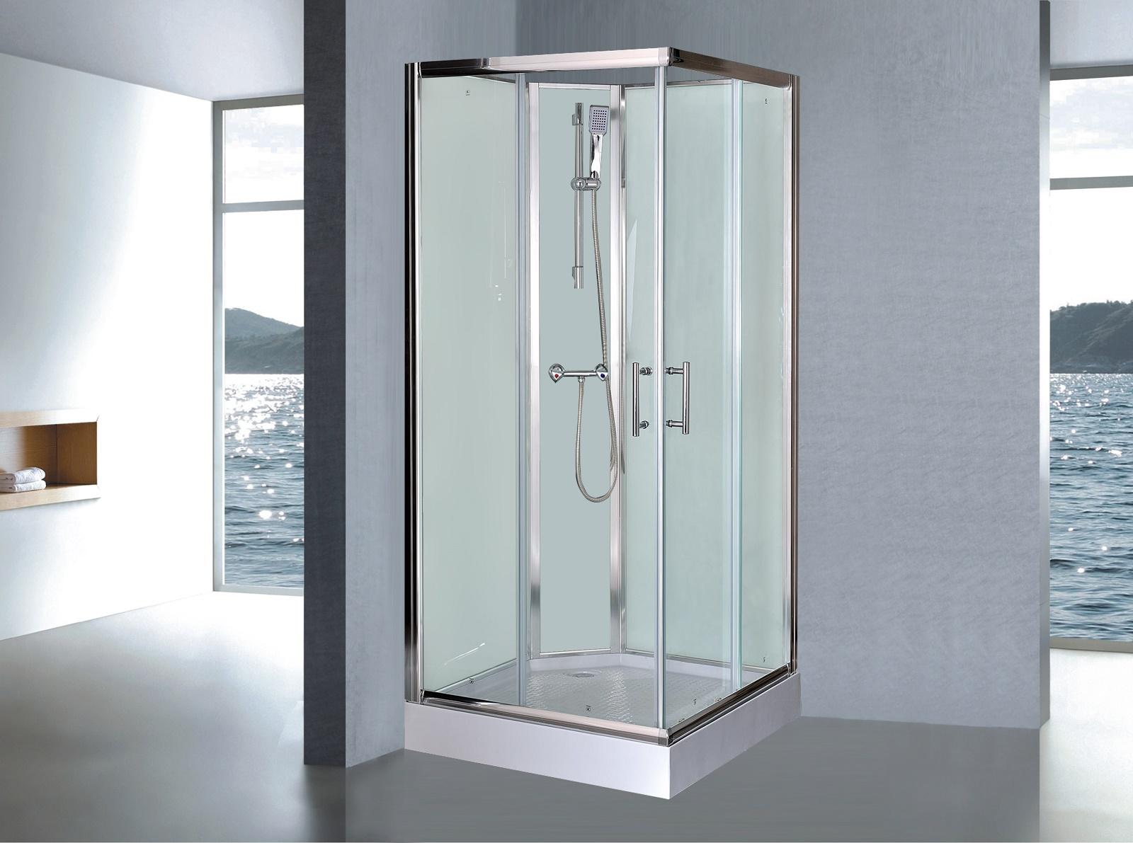 Gamma badkamer douchecabine: euro hoekinstap wit cm douchecabines