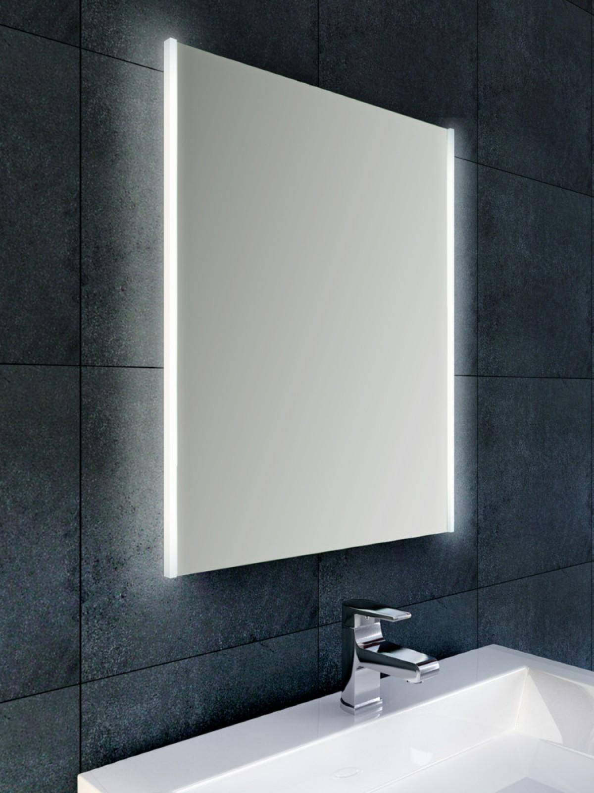 nooit meer een beslagen spiegel in de badkamer