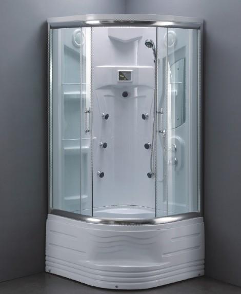 Douchecabines en badkuipen in de badkamer - Kleine doucheruimte ...