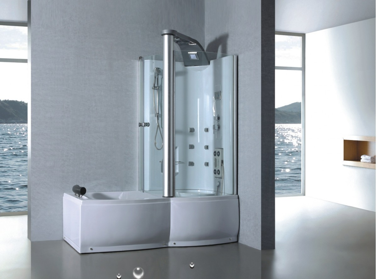 Inloopdouche Met Hoekbad : Badkamer ideeen inloopdouche hoekbad badkamer ideeen
