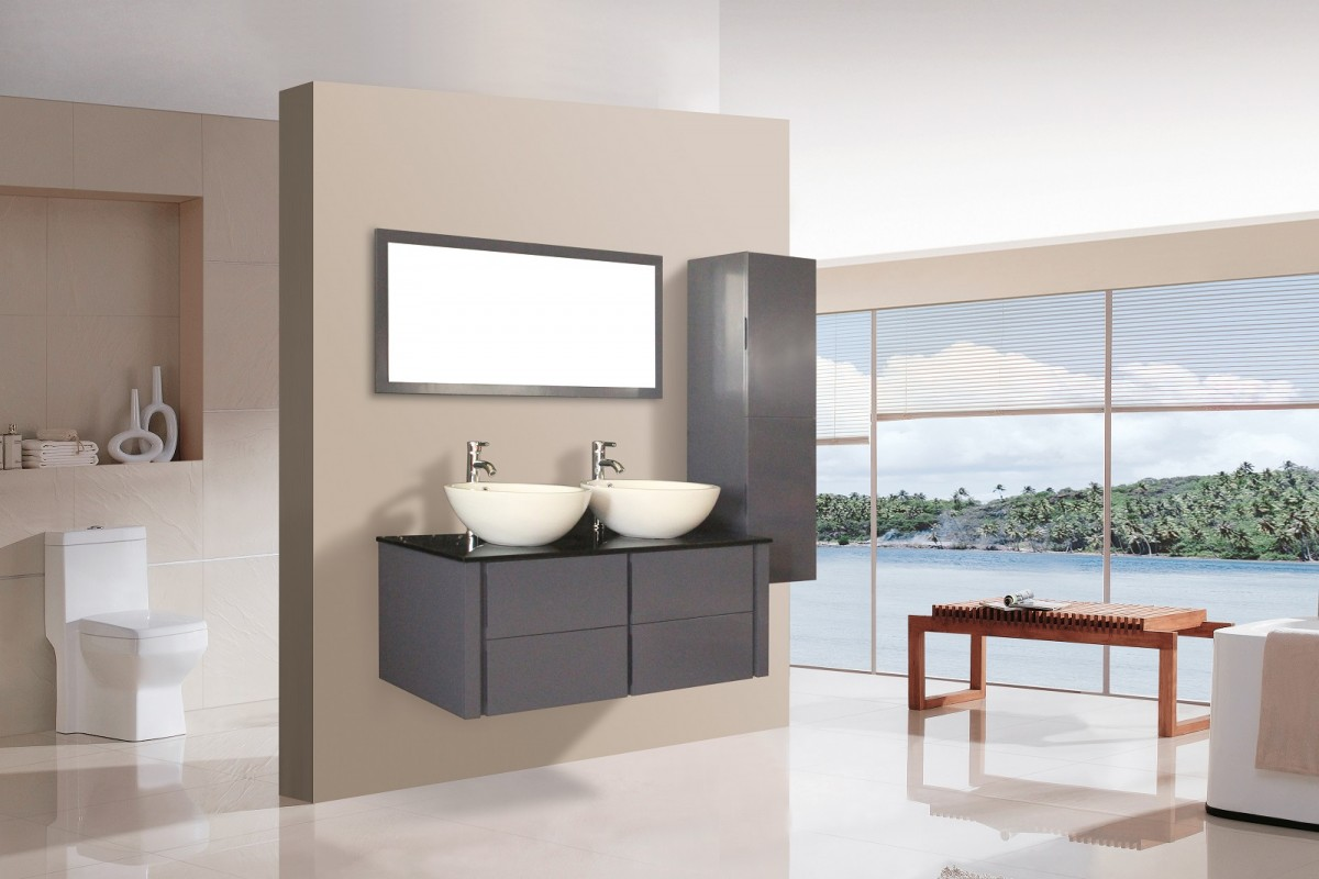 awesome badkamer meubel met waskom contemporary new home