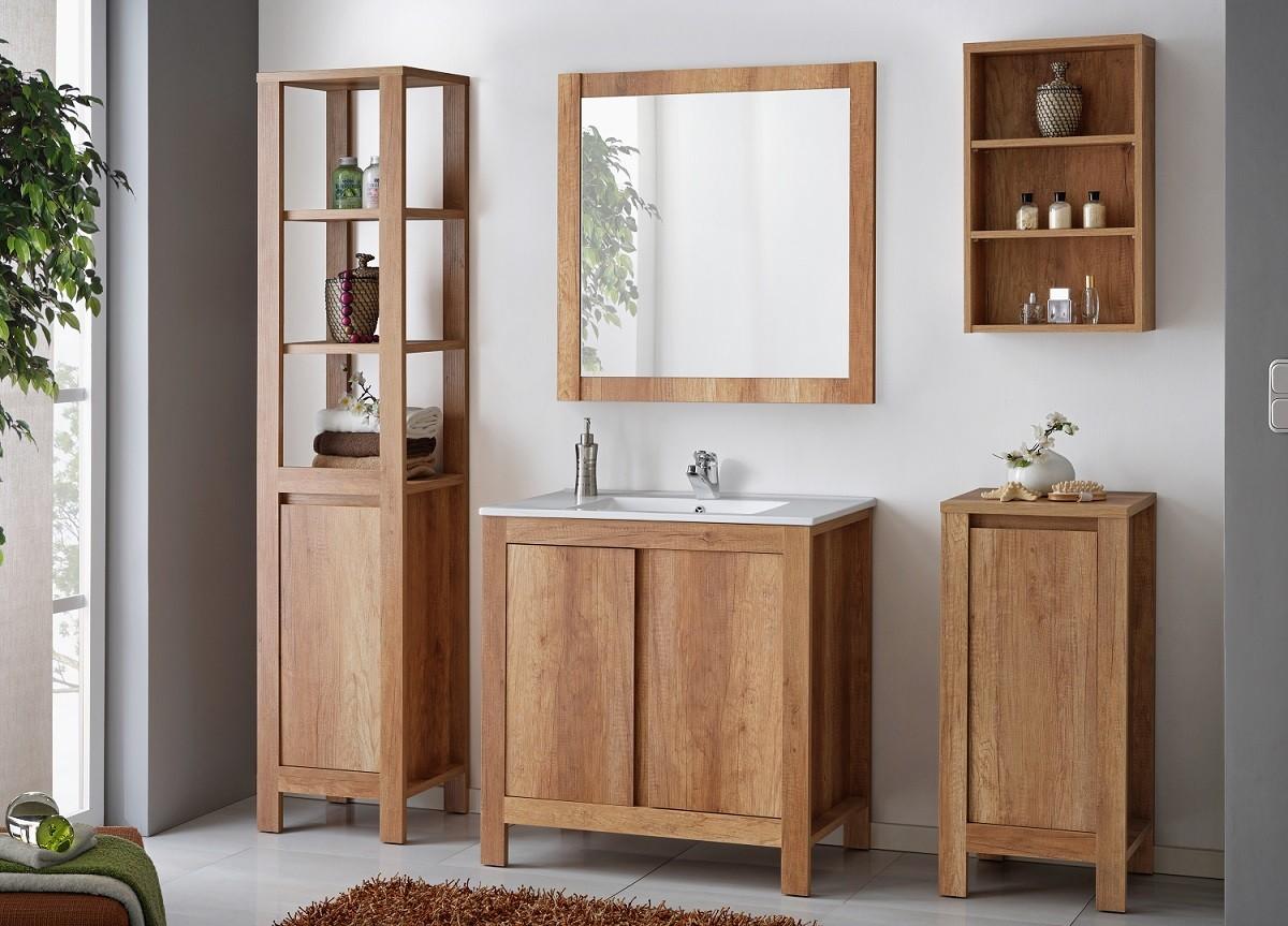 Hout in de badkamer - Blog online-sanitairkopen.nl