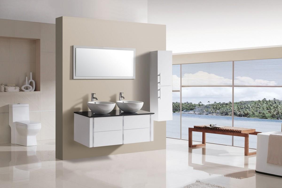 Badkamermeubel Met Badkamer : Een zwevend badkamermeubel vergroot de badkamer blog sanifun