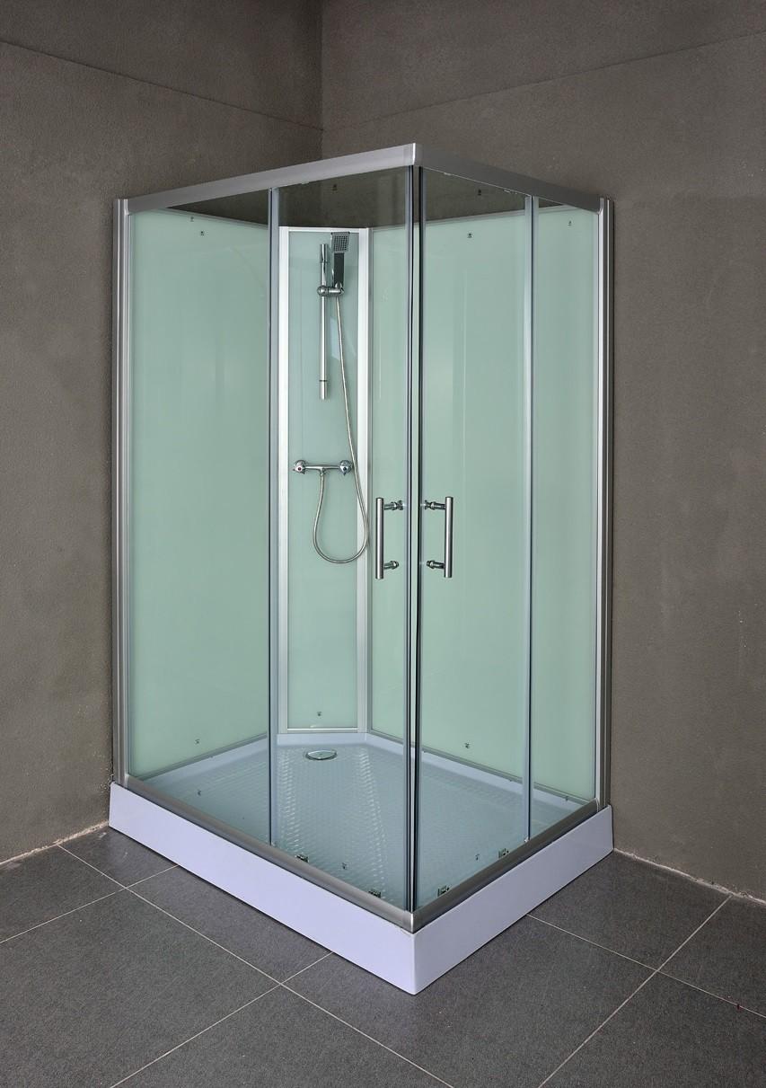 Doe het zelf douchecabine plaatsen blog online - Open douche ruimte ...