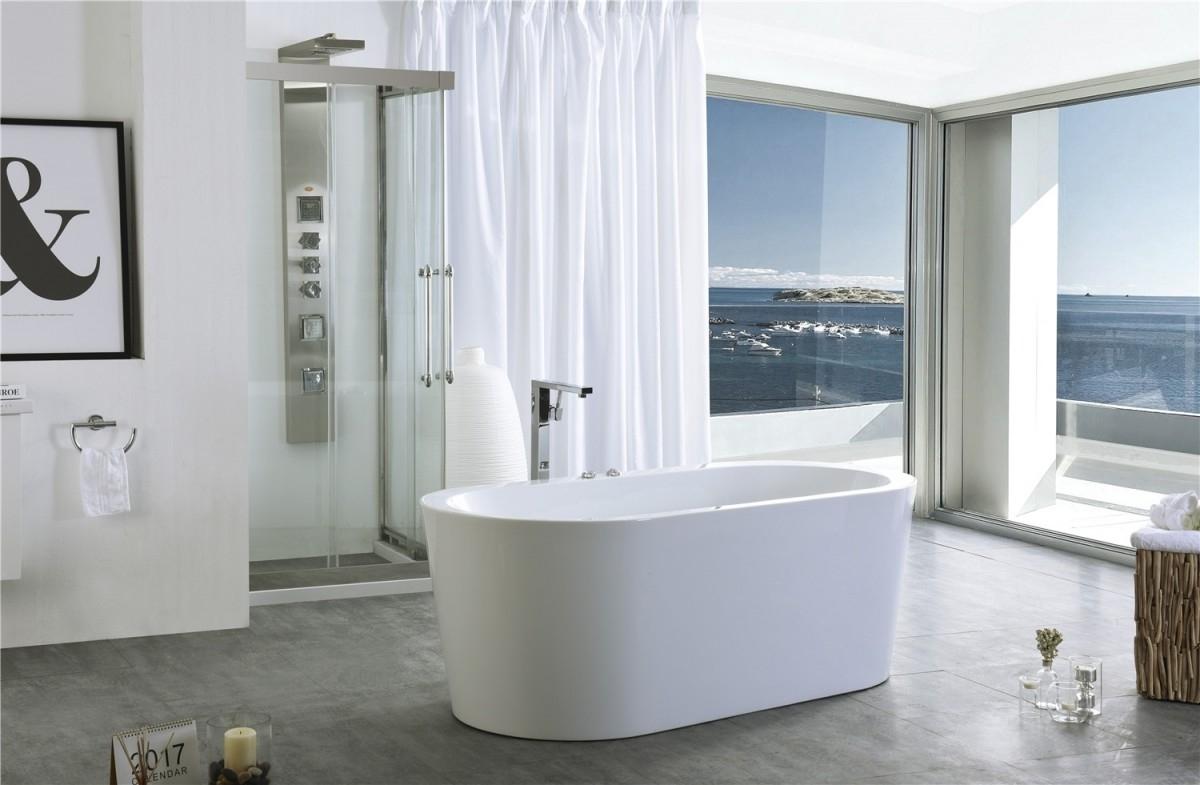 Geef jouw badkamer een upgrade met een vrijstaande whirlpool | Blog ...